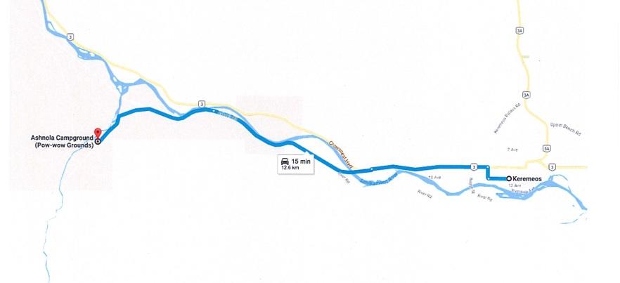 Ashnola Map