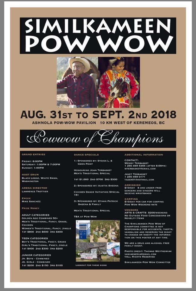Pow wow Poster 2018