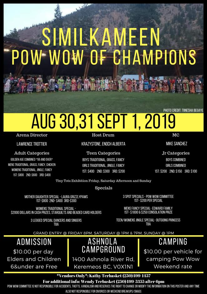 Similkameen pow wow of Champions (2)